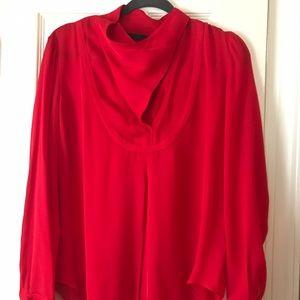 L.A.M.B. 100% Silk Blouse - Size 6